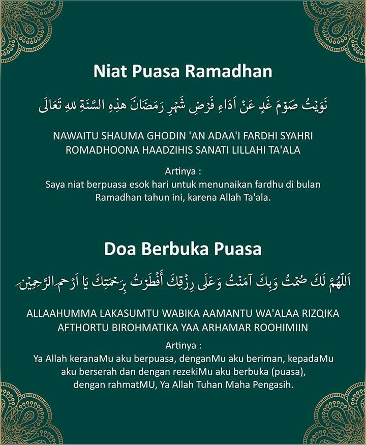 Niat Puasa Ganti Bulan Ramadhan : puasa, ganti, bulan, ramadhan, Puasa, Ganti, Ramadhan, Senin, Pendidikan