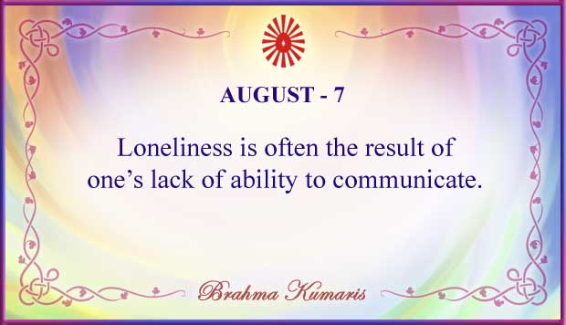 Thought For The Day August 7