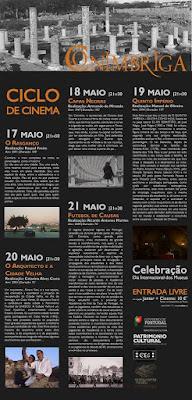 Dia do Museu Assinalado Com Cinema Pelo Centro de Estudos Cinematográficos e o Museu Monográfico de Coimbra