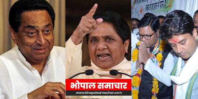 सिंधिया के चलते मध्यप्रदेश में कांग्रेस सरकार खतरे में, मायावती की खुली धमकी | SHIVPURI NEWS