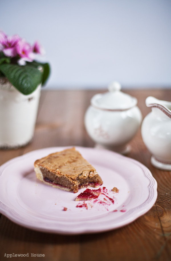 raspberry almond baking