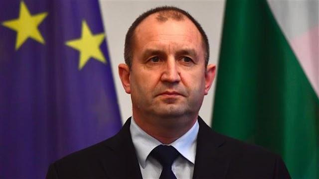 Bulgarian President Rumen Radev raps Turkey for 'interference' in general elections