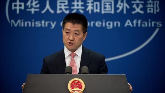 China promete 'reacciones necesarias' si EEUU viola su soberanía