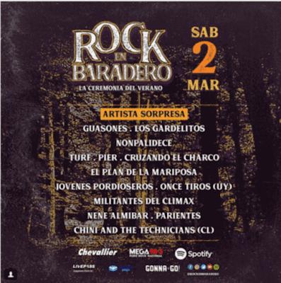 Rock en Baradero 2019.