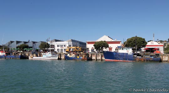 West Quay, Napier, pictured from the Napier Sailing Club, Napier. photograph