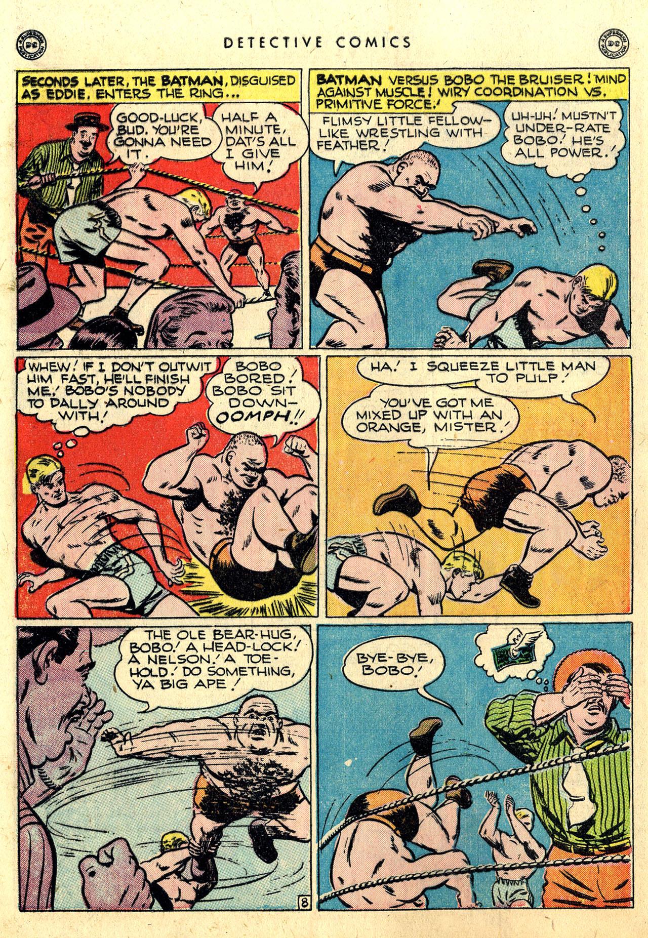 Read online Detective Comics (1937) comic -  Issue #112 - 10