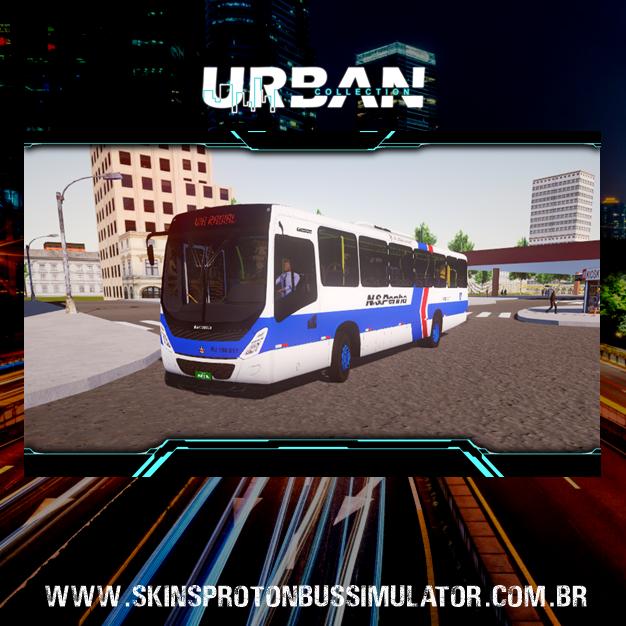 Skin Proton Bus Simulator - Marcopolo Torino 14 MB OF-1721 BT5 Viação N.S.Penha