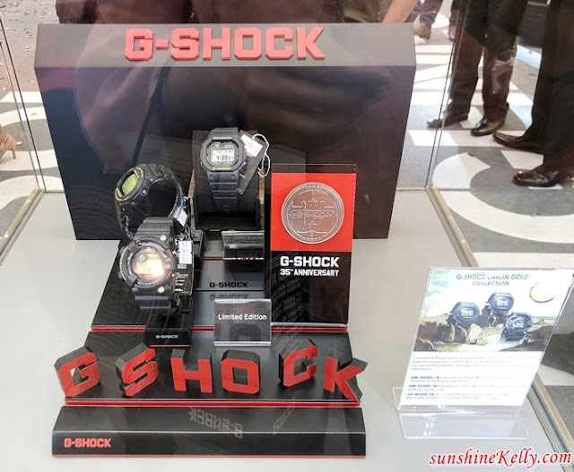 G-Shock, 35th Anniversary, Absolute Toughness, G-Shock 35th Anniversary Limited Edition, G-Shock Malaysia,