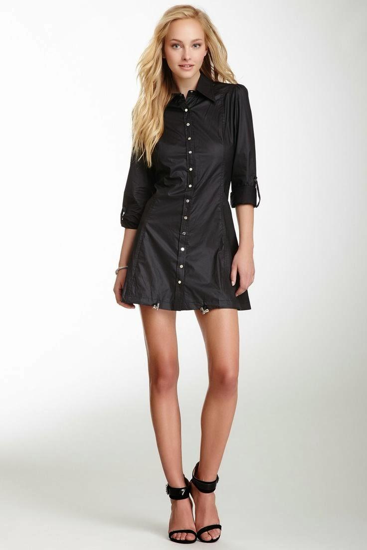 WobiSobi: Shirt Dress: DIY
