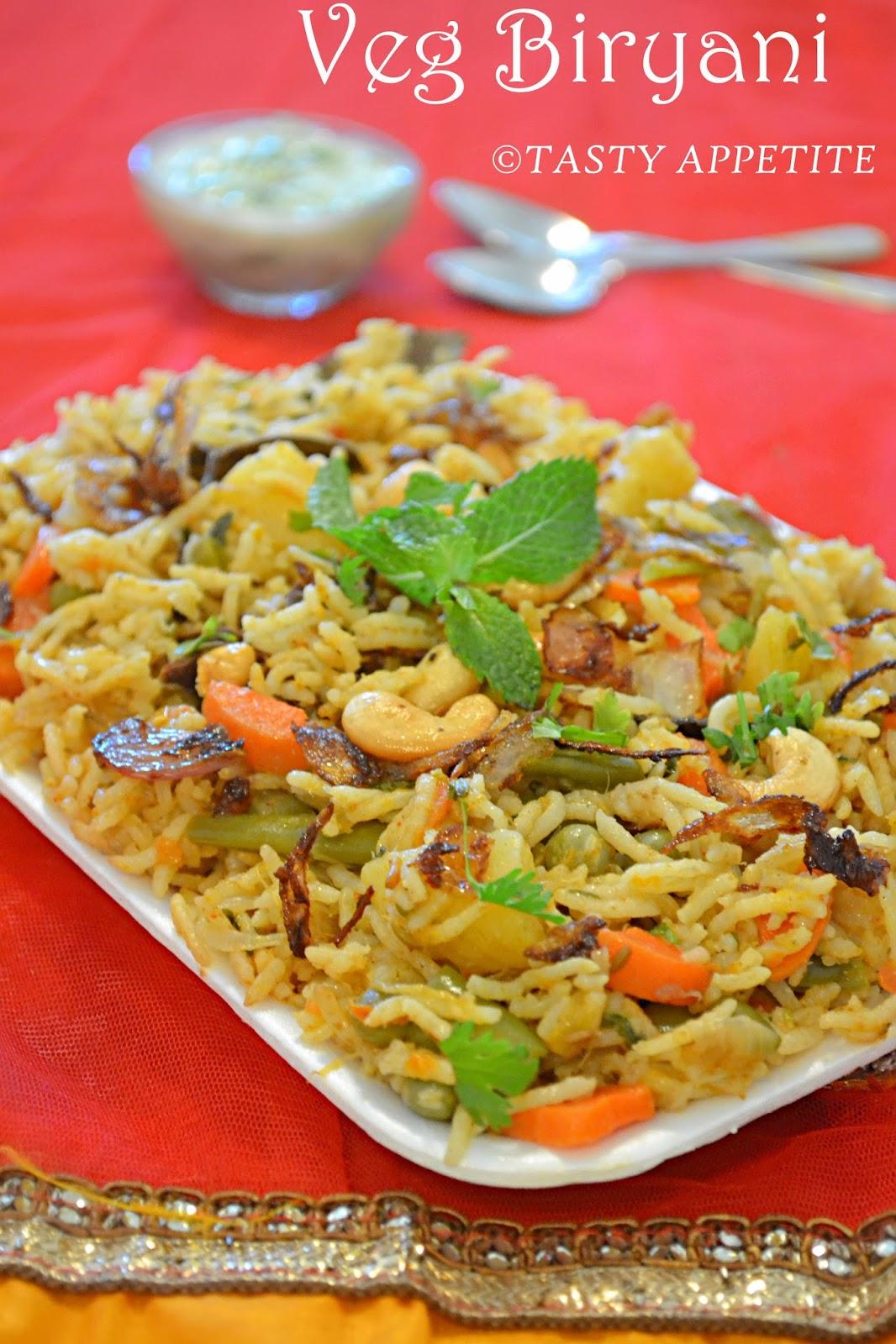 Vegetable Biryani Spicy Vegetable Biryani Recipe Easy Biryani Recipes