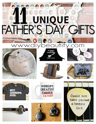Fresh, fun and budget-friendly gift ideas for Father's Day! Find them all at diy beautify.