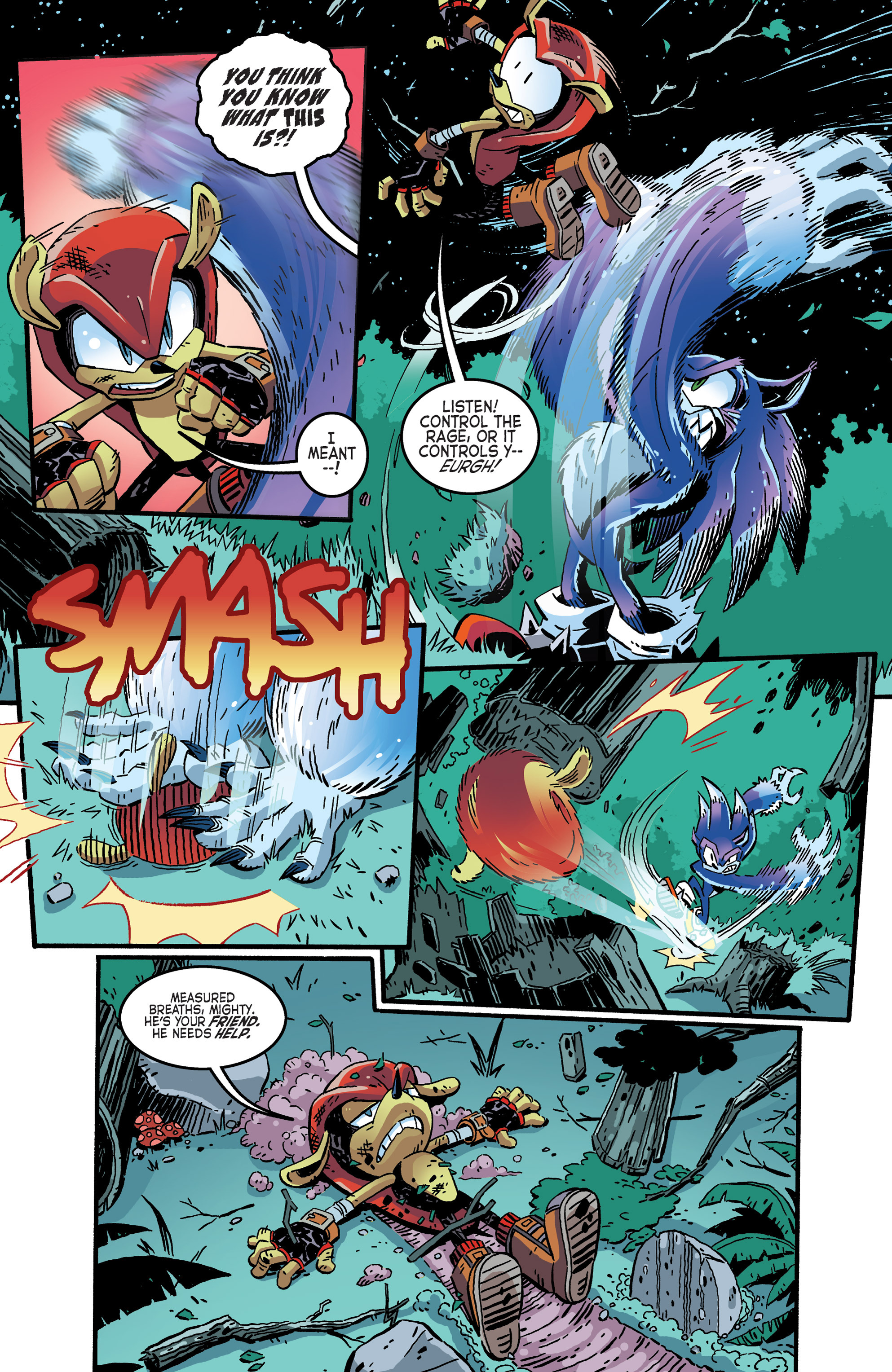 Read online Sonic The Hedgehog comic -  Issue #265 - 10