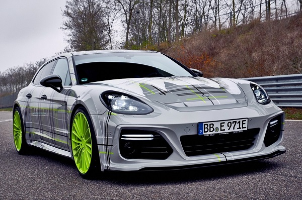 TechArt Porsche Panamera Turbo S híbrido