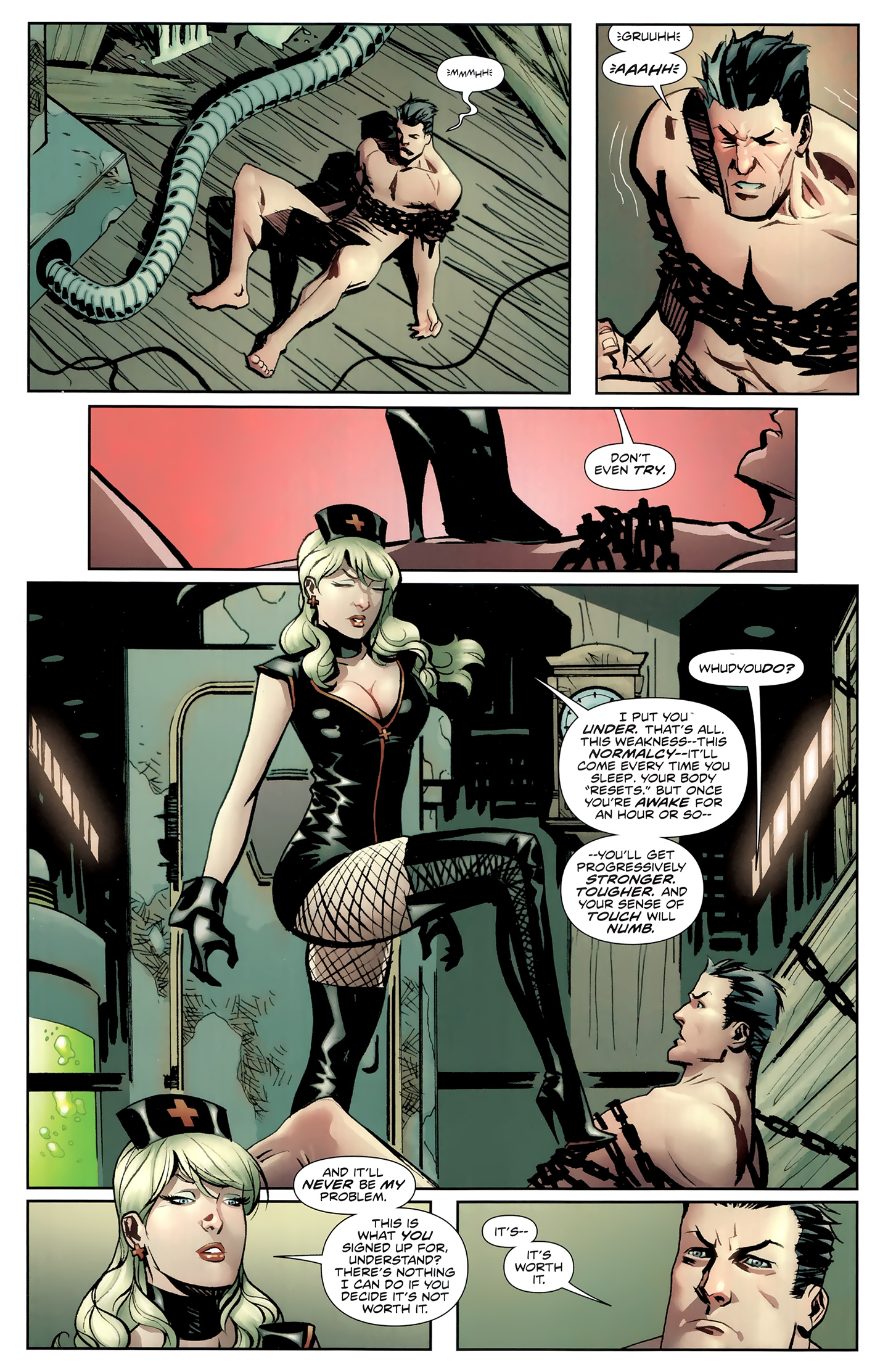 Read online Incorruptible comic -  Issue #26 - 10