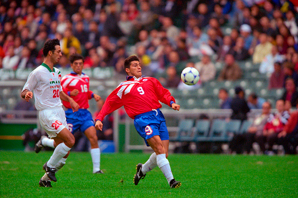 Irán y Chile en 1998 Carlsberg Cup Cup, 31 de enero