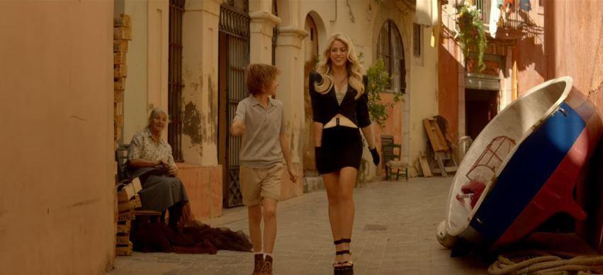 Shakira Costa Crociere pubblicità con Foto - Testimonial Spot Pubblicitario 2016