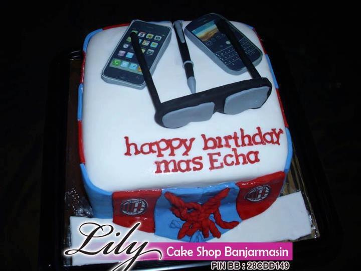 Lily Cake Shop Banjarmasin Kue Ultah Fondant Umum