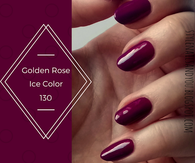Golden Rose Ice Color 130