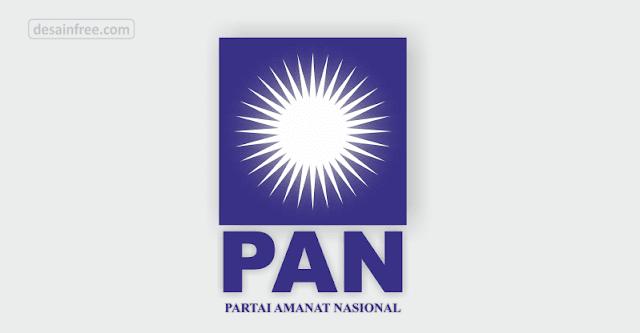 Logo Partai Amanat Nasional (PAN) Format CDR