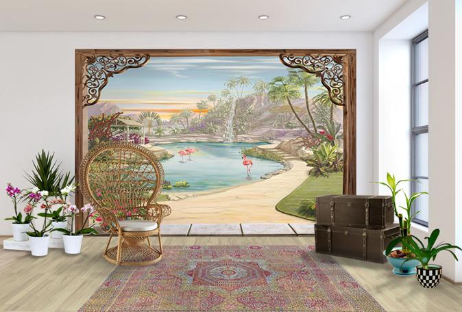 le blog belmon d co d co exotique pour un voyage imaginaire. Black Bedroom Furniture Sets. Home Design Ideas