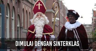 Sinterklas adalah sosok yang berasal dari kebudayaan Eropa, tepatnya Belanda