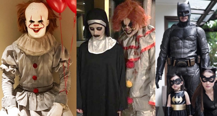 Top 6 local, int'l celebrities in their Halloween costumes