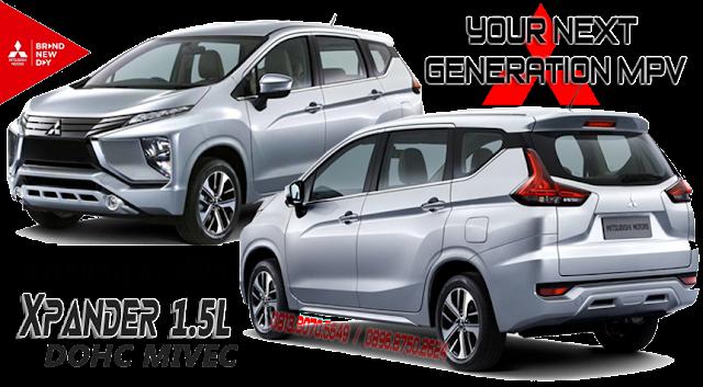 your next generation mitsubishi mpv xpander 1500cc DOHC MIVEC