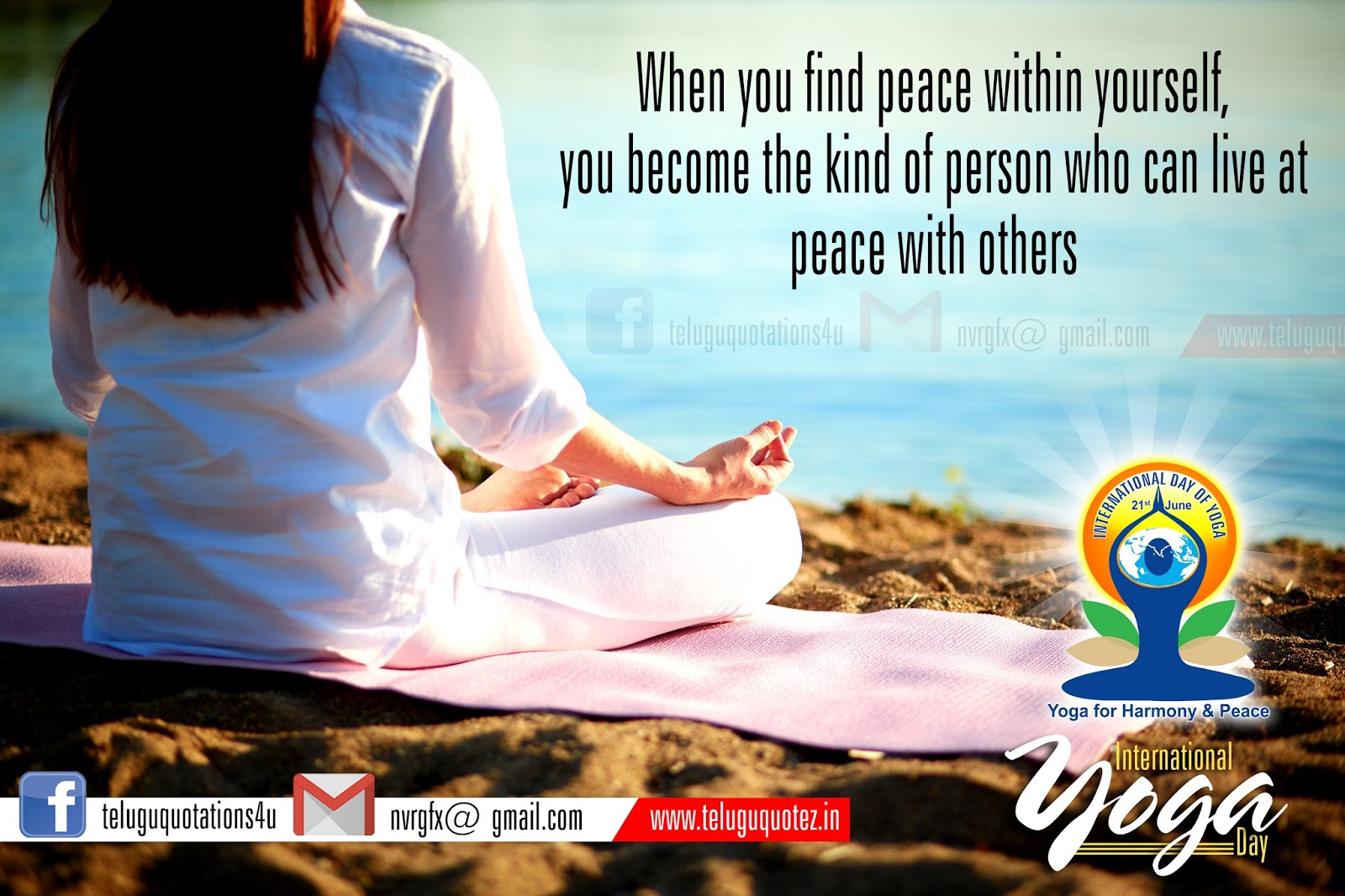 Yoga Inspirational Telugu Quotes And Sayings Hd Wallpapers
