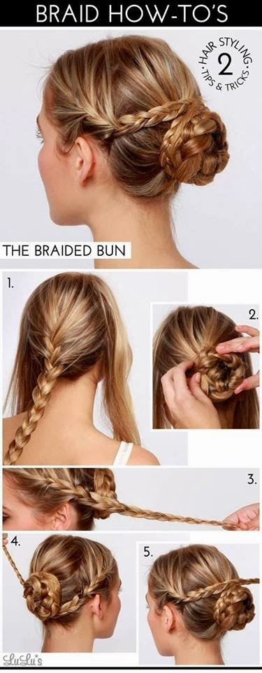 How to Do the Braided Bun