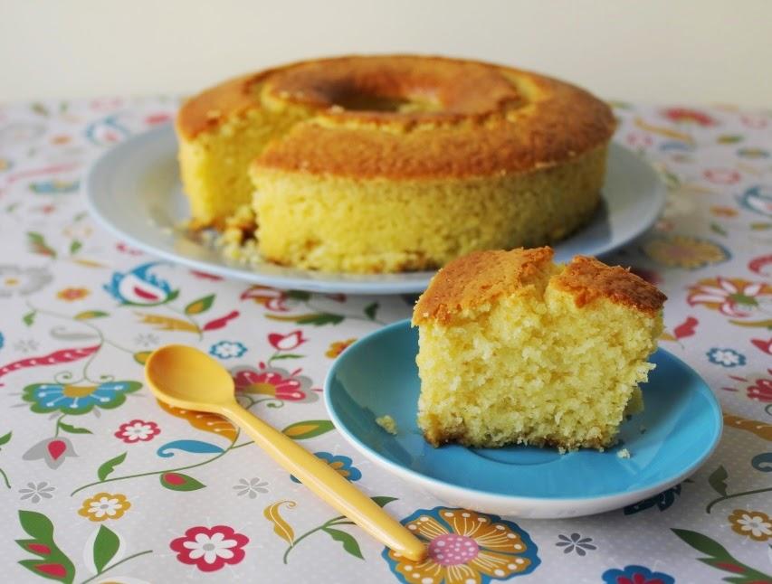 Bizcocho de limón y caramelo - El dulce mundo de Nerea