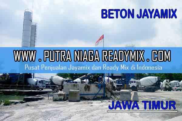 Harga Beton Jayamix Jawa Timur