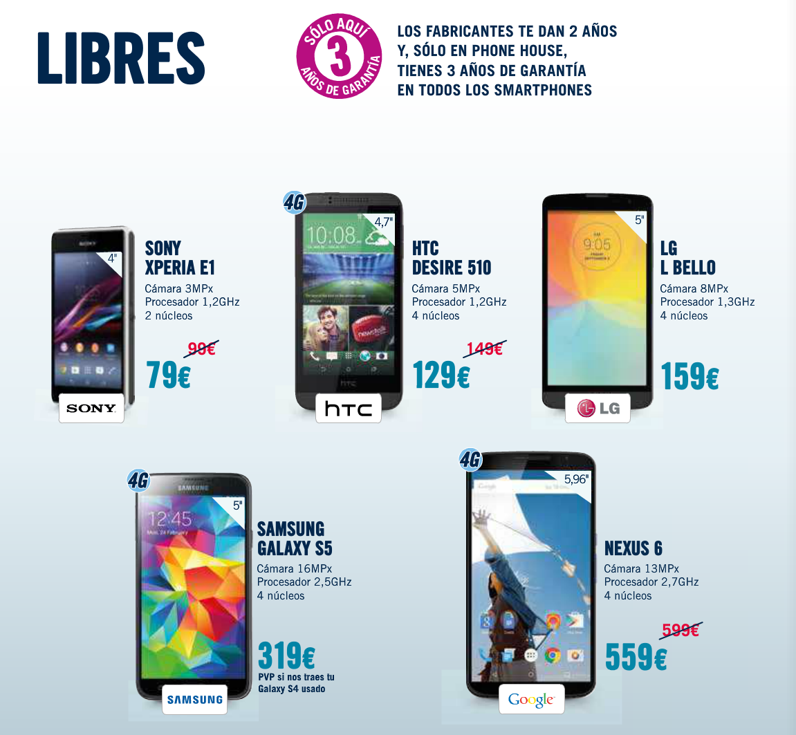 Moviles Libres De Prepago Phonehouse Sur Ingenia Mobile Moviles Libres