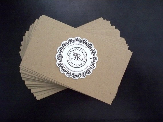 30 ecofriendly recycled paper business card designs
