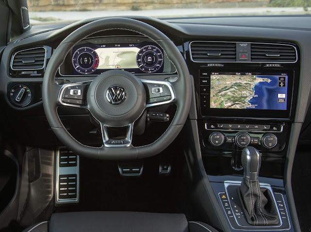 Volkswagen Golf GTI - interior - painel