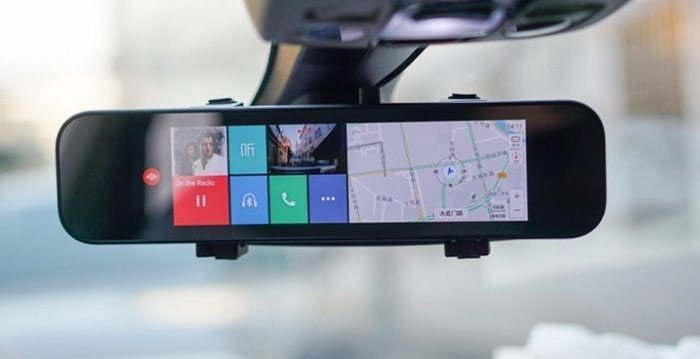 Xiaomi Mi Rearview Mirror Driving Recorder with Voice Control launched