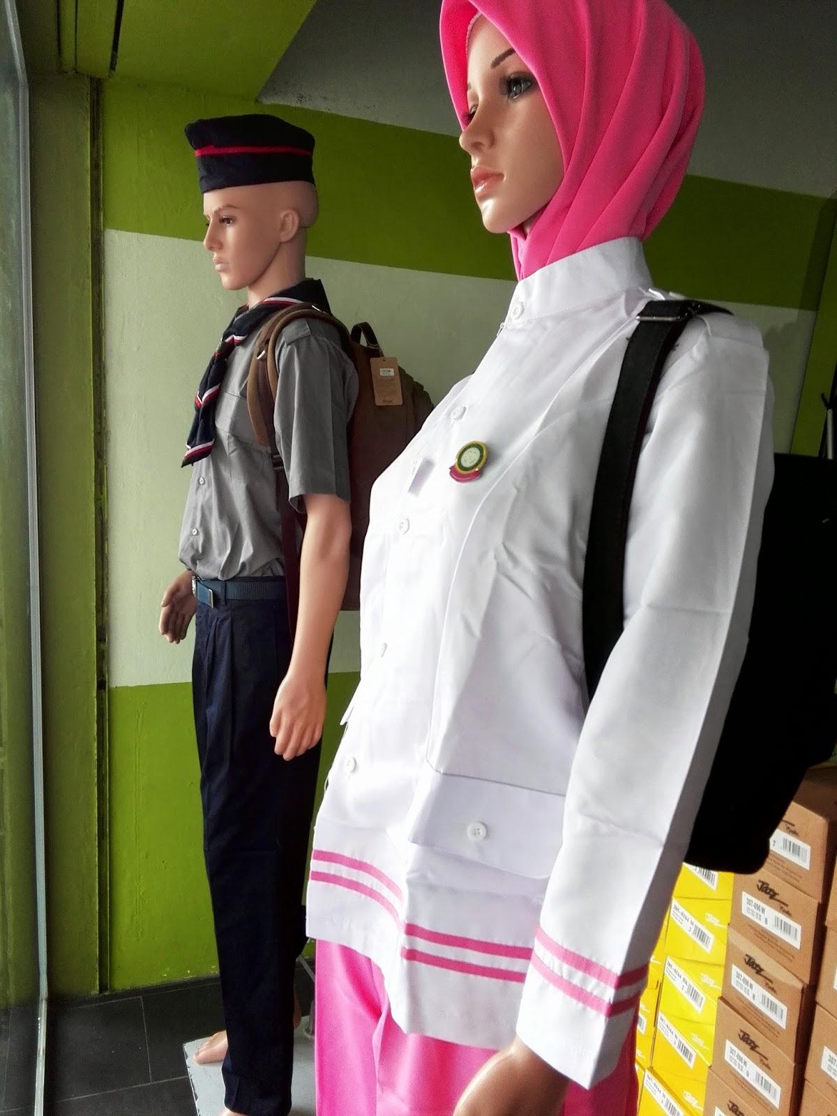 Uniform Puteri Islam Lengkap