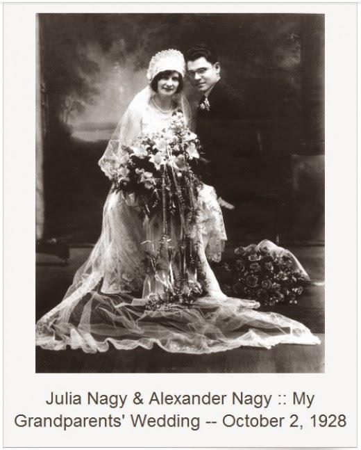 julia kovach and alexander nagy wedding october 1928