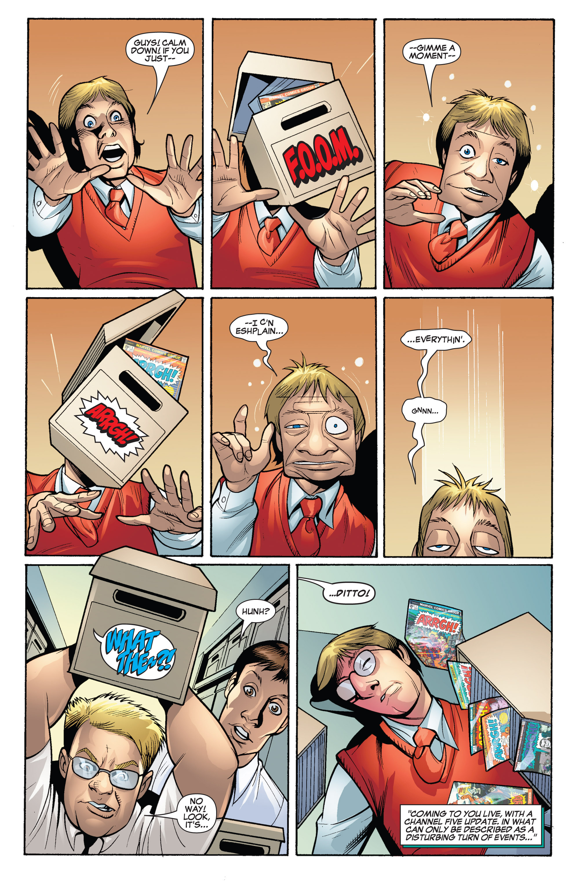 Read online She-Hulk (2005) comic -  Issue #19 - 8