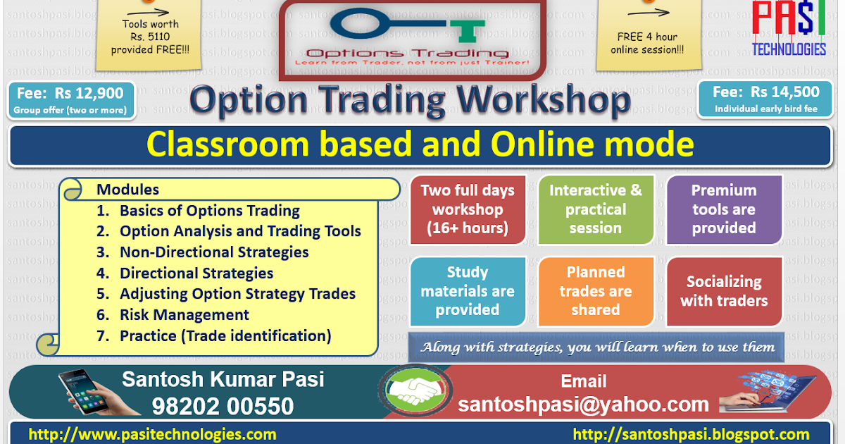 Options trading strategies india excel
