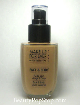 make up for ever face and body review