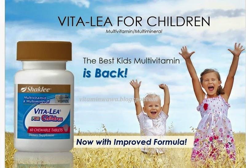 Info Produk - Vita-Lea For Kids Shaklee Multivitamin Untuk Kanak-kanak