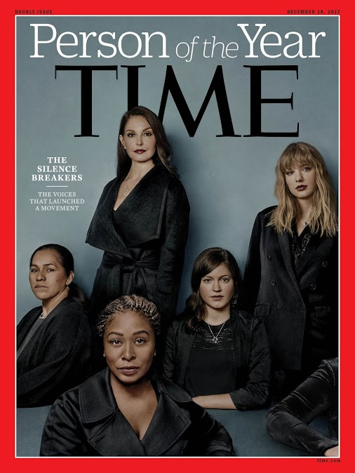 """The Silence Breakers are TIME Magazine's Person of the Year 2017 Time magazine has named """"The Silence..."""