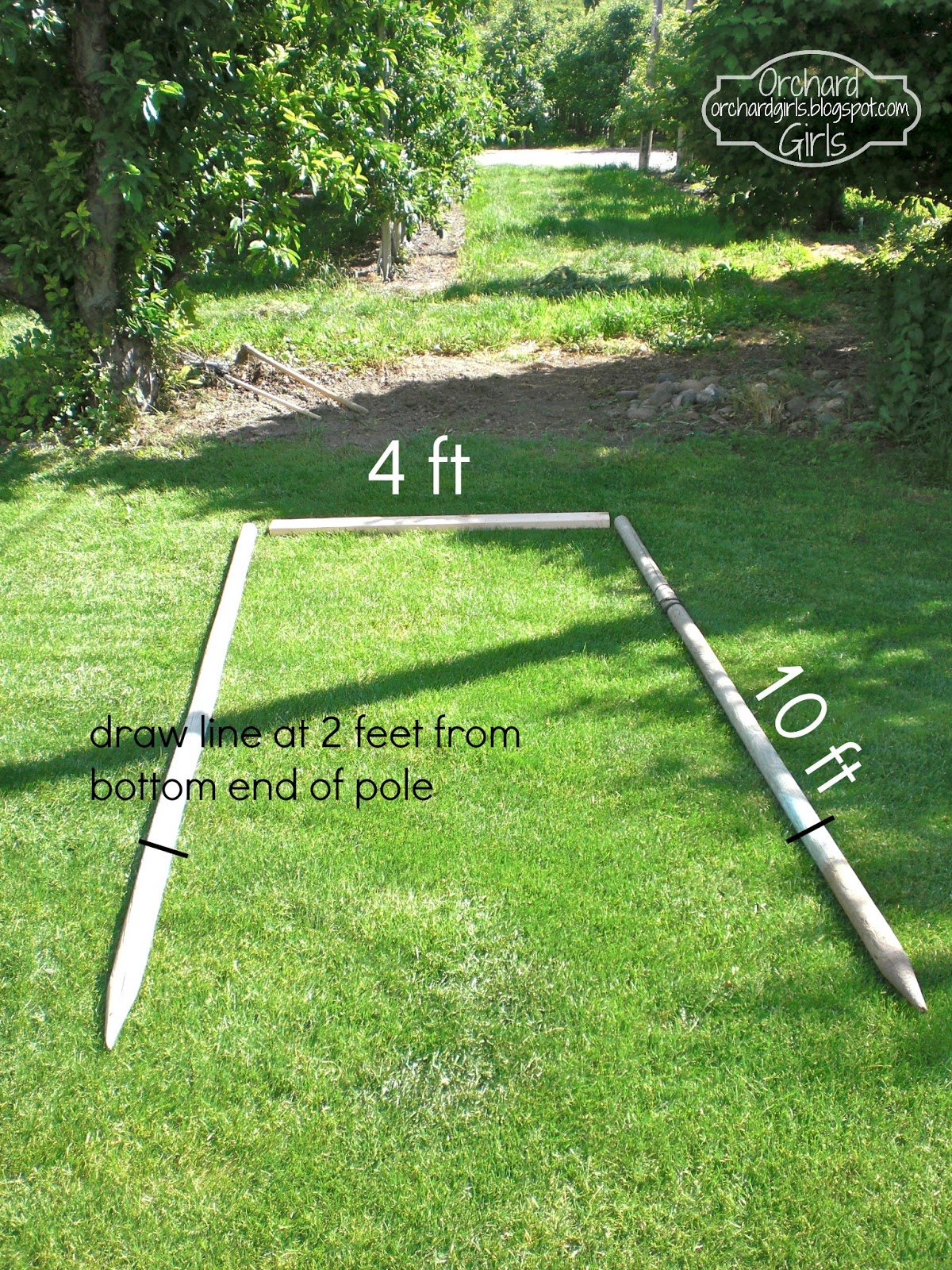 Orchard Girls: Build Your Own Trellis