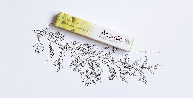 nuoo box acorelle parfum cosmebio naturel