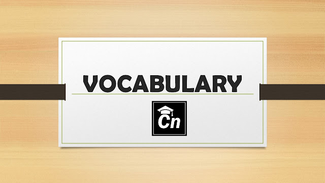 Vocabulary for Competitive Exams like IBPS, SSC, SBI, LIC RRB etc