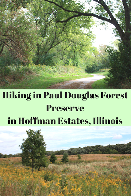 Hiking in Paul Douglas Forest Preserve  in Hoffman Estates, Illinois
