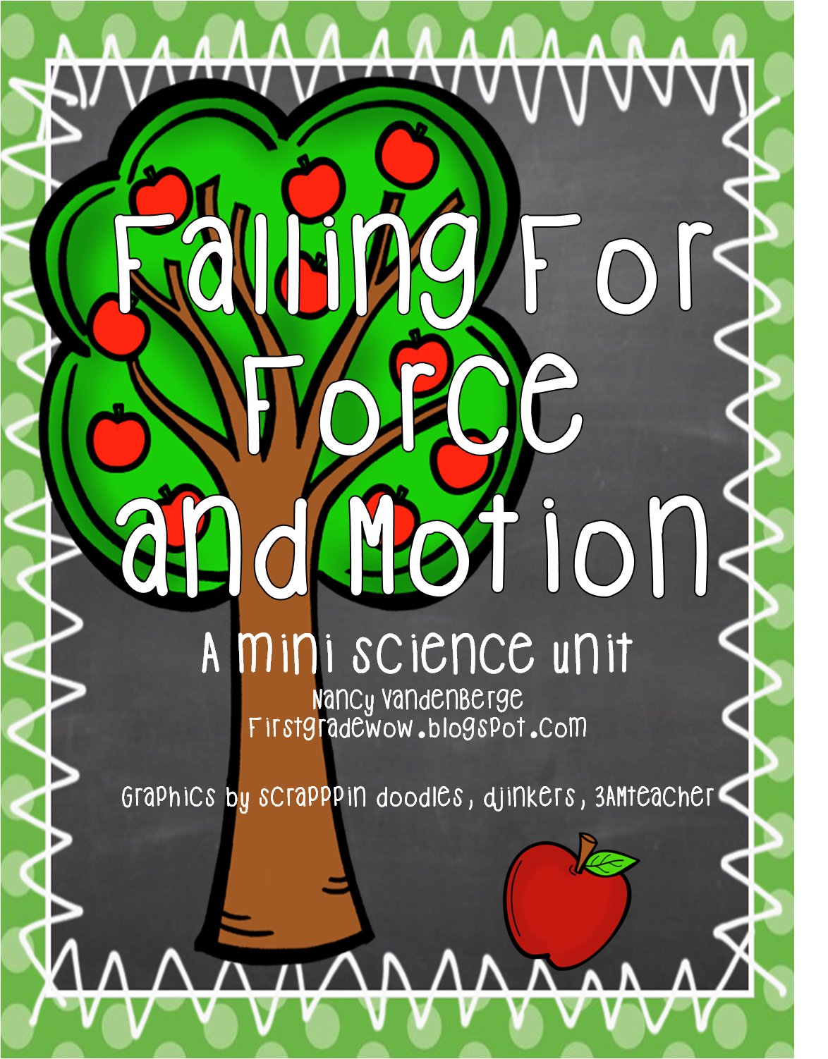 First Grade Wow Falling For Force And Motion Apple Style