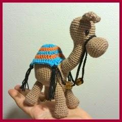 Camello amigurumi