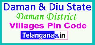 Daman District Pin Codes in DAMAN DIU  State