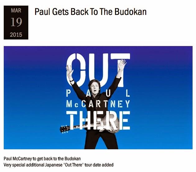 Paul Gets Back To The Budokan